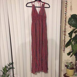 Band of Gypsies backless maxi dress in LARGE